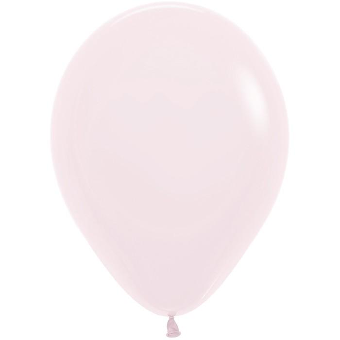 Шар латексный 5, водные бомбочки, макарунс, пастель, набор 100 шт., цвет нежно-розовый