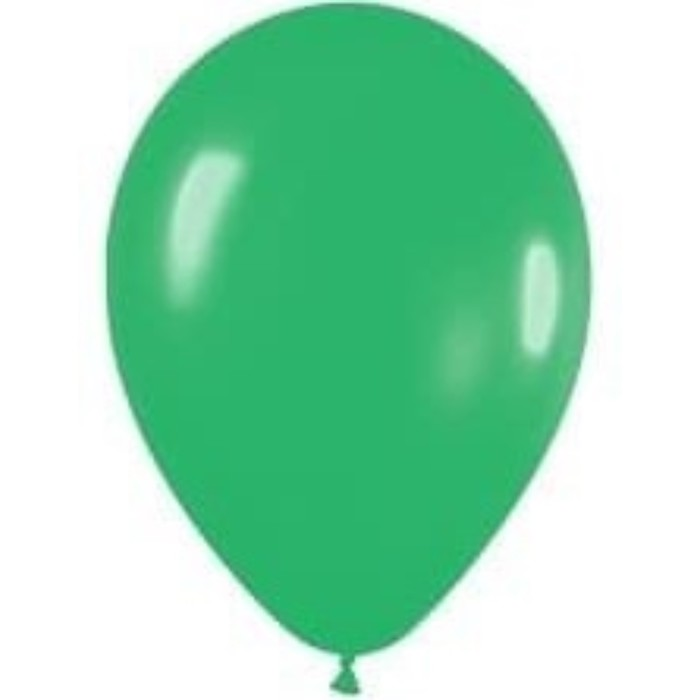 """Шар латексный 12"""", пастель, набор 12 шт., цвет весенне-зелёный"""