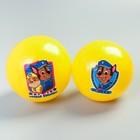 Мяч детский Paw Patrol, желтый 16 см, 50 гр МИКС
