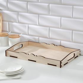 Поднос «Завтрак для двоих» 41×26×5,5 см Ош