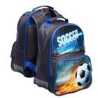 Рюкзак школьный Luris «Тимошка», 37 х 26 х 13 см, эргономичная спинка «Футбол»
