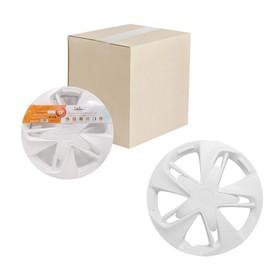 Колпаки колесные 13' 'Супер Астра', белый, карбон, набор 2 шт, AWCC-13-21 Ош