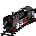 Железная дорога «Экспресс», работает от батареек, 420 см - Фото 2