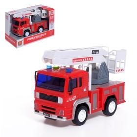 Машина инерционная «Пожарная техника», свет и звук