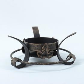 Подставка под садж 'Классика' Виноградный лист, диаметр кольца 22,5 см Ош