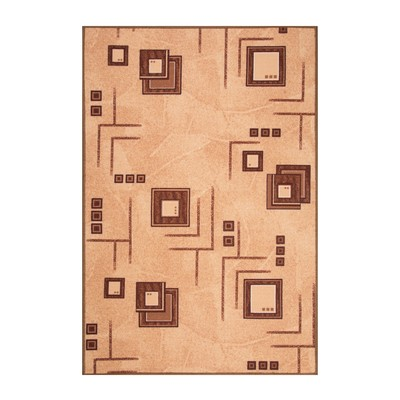 Палас АРХИМЕД размер 100х150 см, цвет бежевый 17/23 войлок 195 г/м2 - Фото 1