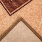 Палас АРХИМЕД размер 100х150 см, цвет бежевый 17/23 войлок 195 г/м2 - Фото 3