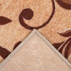 Палас ПАЛИСАД размер 100х150 см, цвет бежевый 17/23 войлок 195 г/м2 - Фото 3