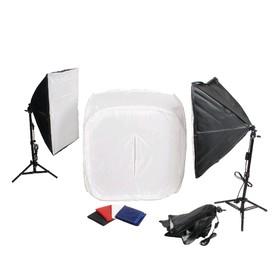 Комплект LFPB-3 kit для макросъемки, фотобокс 80 × 80 × 80 см Ош
