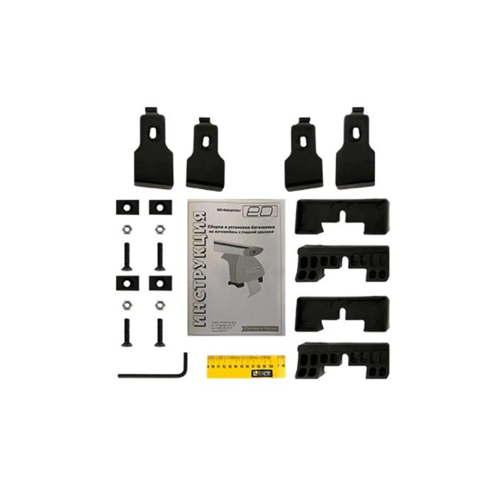 Адаптер багажника Евродеталь для а/м с гладкой крышей (Lada Vesta sedan 2015-), ED10-009