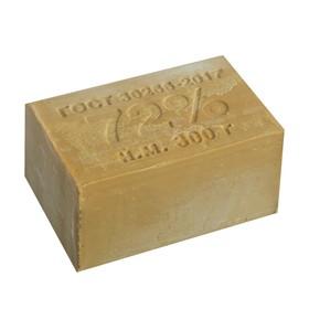 Мыло хозяйственное 72% без упаковки, 300 гр