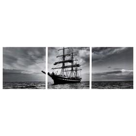 Модульная картина 'Морские дали' (3-35х35) 35х105 см Ош