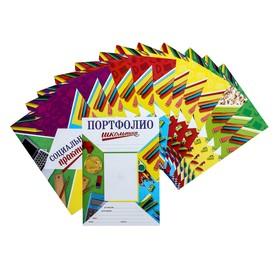 Листы - вкладыши для портфолио «Портфолио школьника», 13 листов, 21 х 29 см Ош