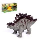 Динозавр «Стегозавр», работает от батареек, световые и звуковые эффекты, МИКС