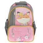 Рюкзак школьный Luris «Степашка», 37 x 26 x 13 см, эргономичная спинка, «Лиса»