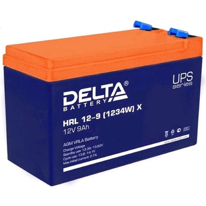 Аккумуляторная батарея Delta HRL 12-9 X, 12 В, 9 А/ч