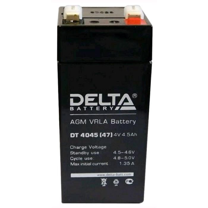 Аккумуляторная батарея Delta DT 4045 (47), 4 В, 4.5 А/ч