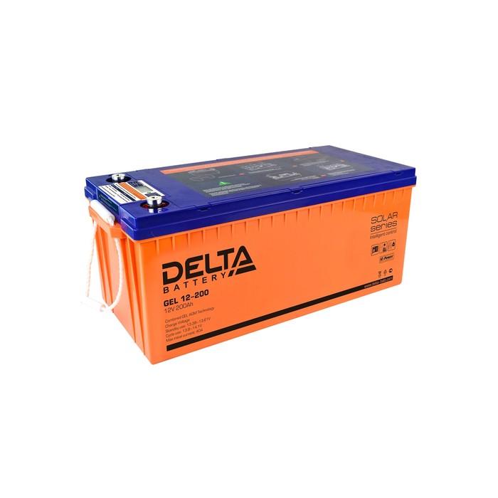 Аккумуляторная батарея Delta GEL 12-200, 12 В, 200 А/ч