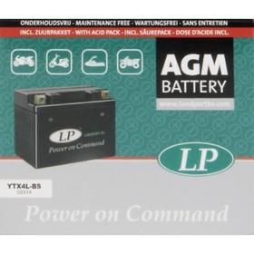Аккумулятор Landport YTX4L-BS, 12В, 3 Ач, обратная (- +) Ош