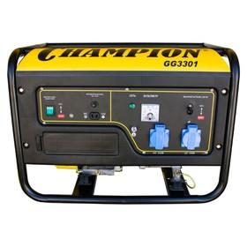 Генератор CHAMPION GG3301, 4Т, 6 л.с., 3.1 кВт, 220 В, 15 л, ручной старт