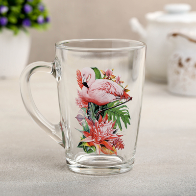 Кружка Декостек «Фламинго в тропиках», 300 мл - Фото 1