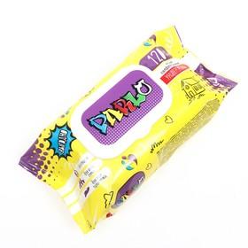 Влажные салфетки универсальные для всей семьи PARLO с крышкой 120шт