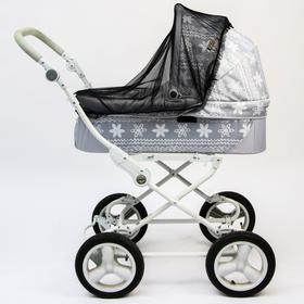 Москитная сетка на коляску, 80х100, цвет черный Ош
