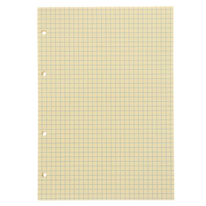 Сменный блок для тетради на кольцах А5, 80 листов, 65 г/м2, МИКС