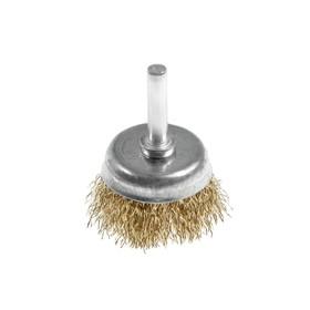Щетка металлическая для дрели ON 20-02-040, со шпилькой, 40 мм, чашка Ош
