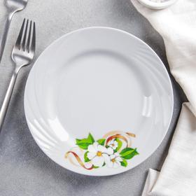 Тарелка мелкая «Белла», d=17,5 см