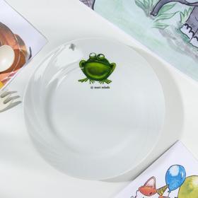Тарелка мелкая «Лягушка», d=17,5 см