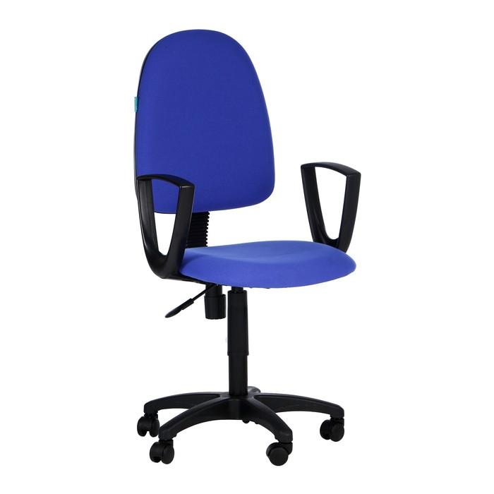 Кресло Бюрократ CH-1300N3C06 синий Престиж 3C06