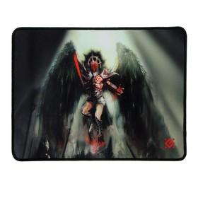 Коврик для мыши Defender Angel of Death M, игровой, 360x270x3 мм, ткань+резина Ош