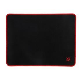 Коврик для мыши Defender Black M, игровой, 360x270x3 мм, чёрно-красный Ош