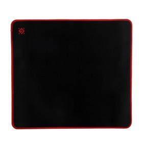 Коврик для мыши Defender Black XXL, игровой, 400x355x3 мм, чёрно-красный Ош