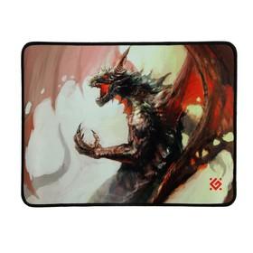 Коврик для мыши Defender Dragon Rage M, игровой, 360x270x3 мм, ткань + резина Ош