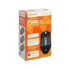 Мышь Defender Flash MB-600L, проводная, оптическая, подсветка, 4 кнопки, 1200 dpi, чёрная - Фото 9
