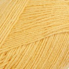 """Пряжа """"Калипсо"""" 34% лен,33% хлопок,33% вискоза 200м/50гр (0594, желтый)"""