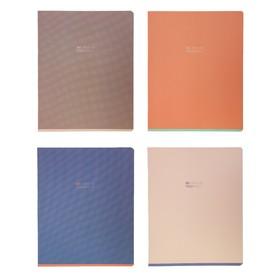 Тетрадь 48 листов в клетку Greenwich Line One color Pastel, обложка мелованный картон, матовая ламинация, блок 70 г/м2