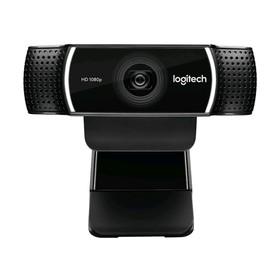 Веб-камера Logitech Pro Stream C922, 2МП, 1920x1080, микрофон, USB2.0, чёрный