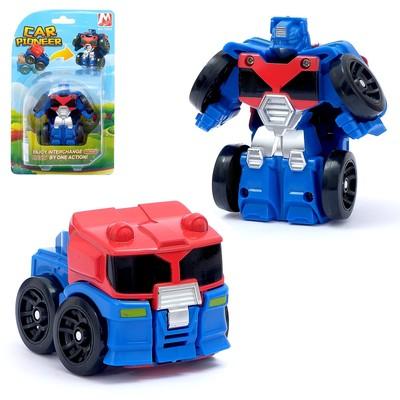 Робот «Герой», трансформируется, мгновенная трансформация