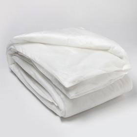 Одеяло Спанбонд 140х205 см, белый, синтепон 100г/м2, ткань спанбонд 40г/м2 Ош