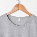 Костюм мужской «Влад» (футболка, шорты), цвет серый/клетка, размер 48 - Фото 2