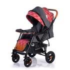 Прогулочная коляска с перекидной ручкой Sense Plus, цвет серый с красным - Фото 6