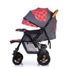 Прогулочная коляска с перекидной ручкой Sense Plus, цвет серый с красным - Фото 7