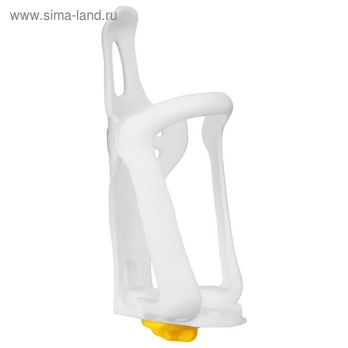 Флягодержатель XG-089-1 пластиковый, цвет белый
