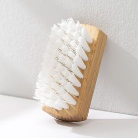 Щётка для одежды, 10×3,8 см, 44 пучка, искусственная щетина Ош