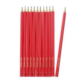 Набор 12 штук карандаш чернографитный Koh-I-Noor 1702/1 HB, граненый (2754322)