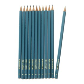 Набор 12 штук карандаш чернографитный Koh-I-Noor 1702/2 HB, граненый (749508)