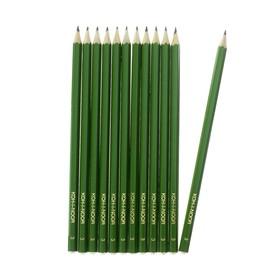 Набор 12 штук карандаш чернографитный Koh-I-Noor 1702/3 HB, граненый (2645619)